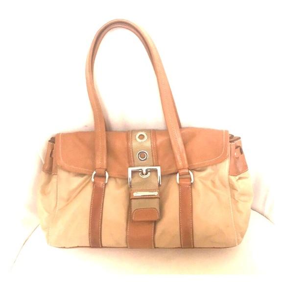 67157e539662f3 PRADA AUTH camel tan shoulder bag handbag. M_5c01b903819e90e967b365e3